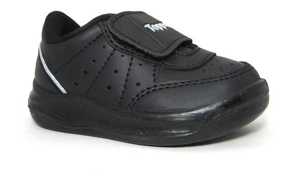 Zapatillas Topper Baby X Forcer Negro Abrojo