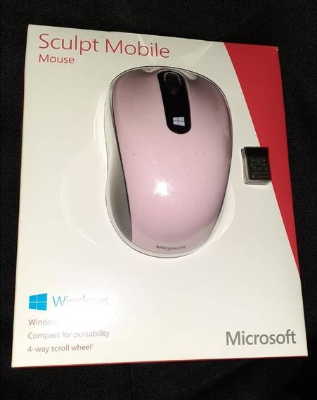 Mouse Inalambrico Microsoft Color Rosado Nuevos