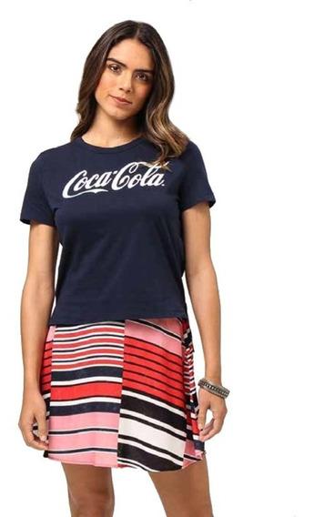 Camiseta Blusa Coca-cola Original Manga Curta 343202119