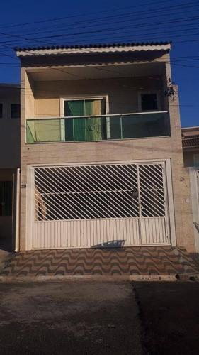 Sobrado Com 3 Dormitórios À Venda, 200 M² Por R$ 800.000 - Jardim Serra Dourada - Itaquaquecetuba/sp - So0317