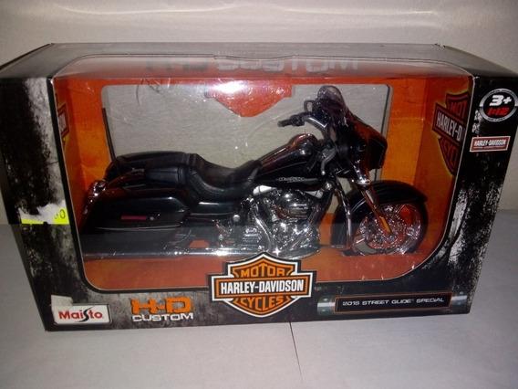 Harley Davidson Maisto Esc 1 12 2015 Street Glide Special