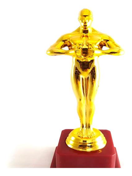 Estatuilla Premio Oscar 20 Cm Plastico Fiesta Oscares Oscars