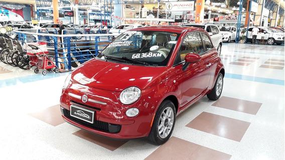Fiat 500 1.4 Cult Flex 2p Automático 2012/2013