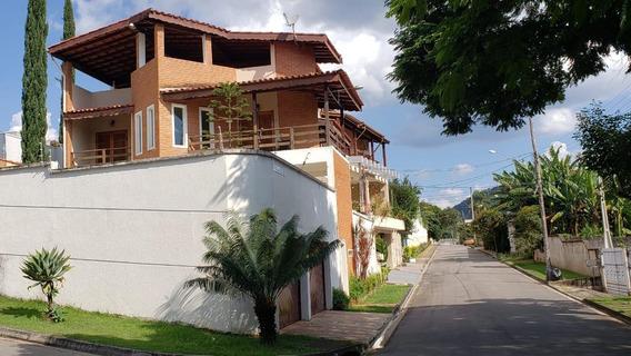 Casa Em Jardim Paulista, Atibaia/sp De 377m² 3 Quartos À Venda Por R$ 930.000,00 - Ca573045