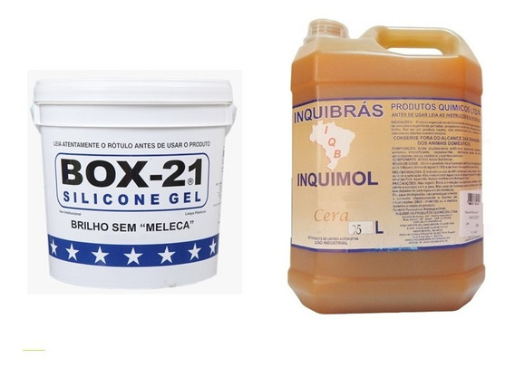 Silicone Automotivo Box 21 3,6k Shampoo C/ Cera Automotivo 5