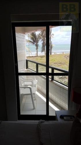 Imagem 1 de 5 de Flat Para Venda Em Natal, Ponta Negra, 1 Dormitório, 1 Banheiro, 1 Vaga - Flat 37m_2-1243172