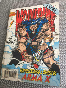 Revista Wolverine Marvel Comics 1 Ed. Abril Frete R$15