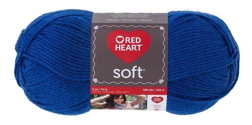 Estambre Acrílico Suave Liso Soft Yarn Red Heart Coats