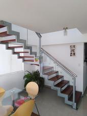Escalera Metálica, Barandas De Acero Inoxidable, Caracol