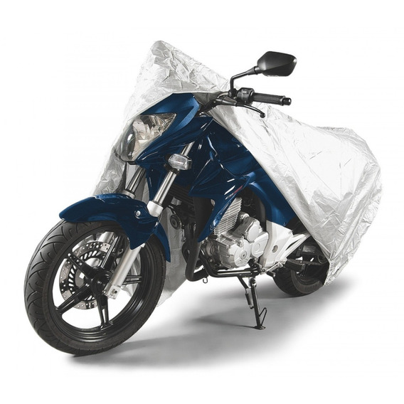 Capa Para Moto Impermeável Tramontina G Prata Ej