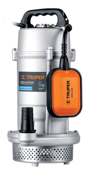 Bomba Sumergible Metalica Para Agua Limpia Uso Rudo 1 Hp 150