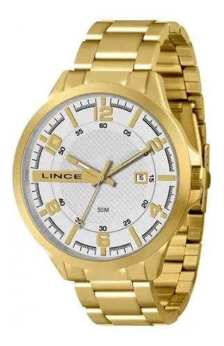 Relógio Lince Ref. Mrg4271s - Dourado - Unisex Mrg4271s