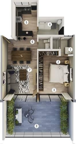 * Exclusivo Pent Garden Tipo 2 En Venta Condominio Viu Homes En Zibata