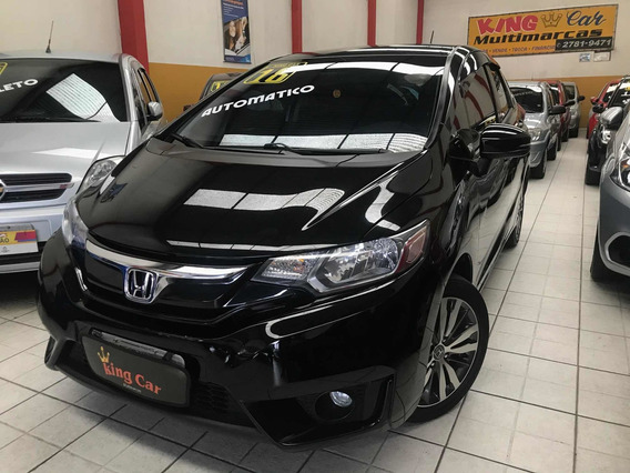Honda Fit 1.5 Ex Flex Automático 2016 Kingcar Multimarcas