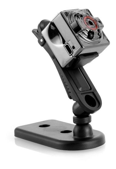 Camara Oculta Espia Mini Seguridad Vigilancia Full Hd Ir Sq8