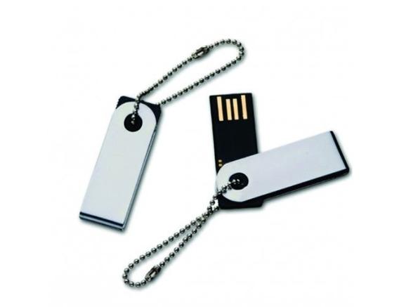 Pen Drive 8 Gb Twist 100% Original Lacrado Prata C/cordinha