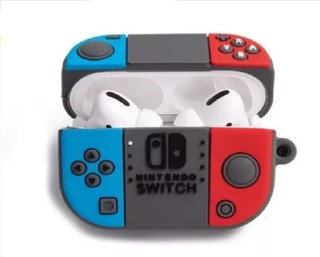 Funda AirPods Pro Nintendo Switch Pokebola Pikachu Snorlax
