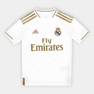 Camiseta adidas Real Madrid I 2019/2020 Infantil - Original
