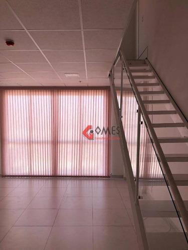 Imagem 1 de 11 de Sala, 76 M² - Venda Por R$ 720.000,00 Ou Aluguel Por R$ 3.200,00/mês - Jardim Do Mar - São Bernardo Do Campo/sp - Sa0410