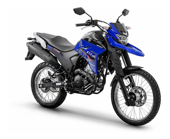 Moto Yamaha Xtz 250 Abs 0km 2020 Azul