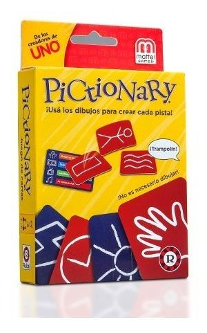 Pictionary Cartas- Ruibal - Mattel