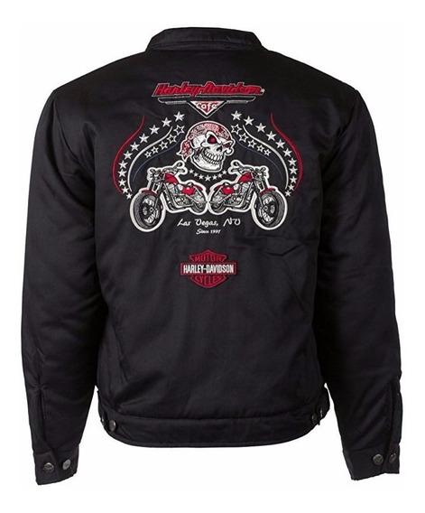 Harley Davidson Jaqueta Feminina Original Las Vegas Imp Eua