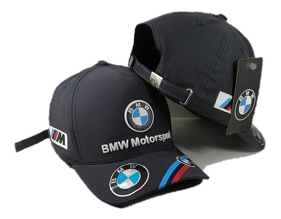 Boné Bmw Motorsport Aba Curva Fivela Fita Barato Strapback