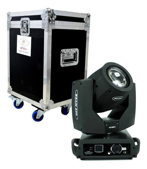 Moving Head Beam 230w 7r Iluminação Com Case Moving Beam 7r