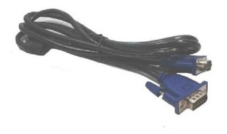Cable Vga 15 Pines 1,5 Metros, Monitor, Notebook, Proyector