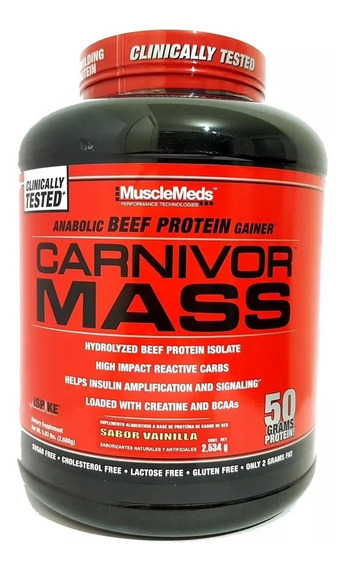 Proteina Carnivor Mass 5.9 Lbs