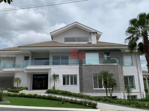 Imagem 1 de 30 de Casa Com 5 Dormitórios À Venda, 1200 M² Por R$ 17.500.000,00 - Alphaville - Santana De Parnaíba/sp - Ca6231