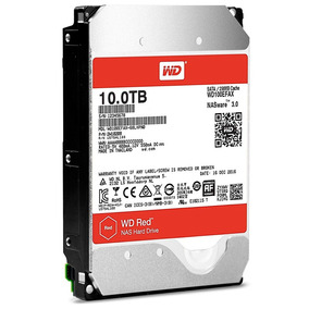 Wd Disco Duro Western Digital Red Wd100efax, 10tb, Sata 6.0