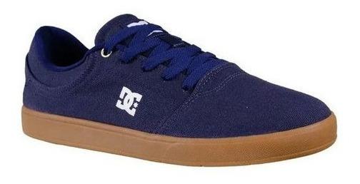 Tênis Dc Shoes Anvil La Azul Marinho E Caramelo