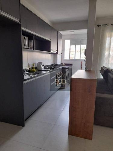 Imagem 1 de 16 de Apartamento À Venda, 70 M² Por R$ 350.000,00 - Centro - São José/sc - Ap2431