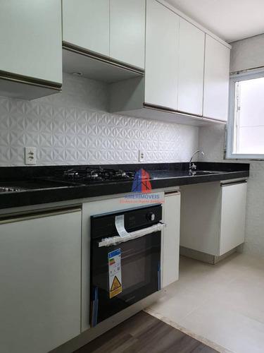 Apartamento Com 2 Dormitórios, 56 M² No Bairro Vila Dainese- Venda Por R$ 250.000 Ou Aluguel Por R$ 0/mês - Vila Dainese - Americana/sp - Ap1558