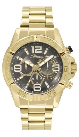 Relógio Masculino Condor Dourado Covd54au/4c