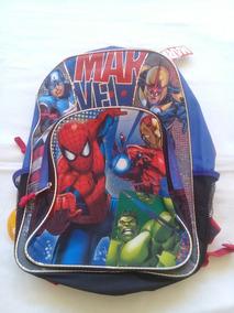 Mochila Escolar Infantil Vingadores Avengers Marvel