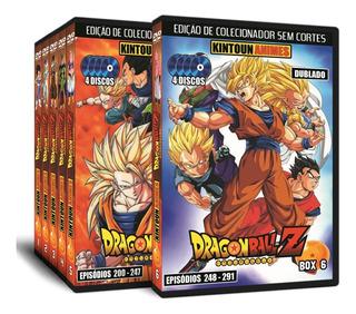 Dvds Dragon Ball Z Série Completa Hd Dublado