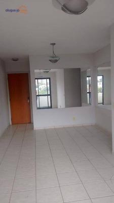 Apartamento Com 2 Dormitórios Para Alugar, 67 M² Por R$ 1.500/mês - Jardim Aquarius - São José Dos Campos/sp - Ap5483