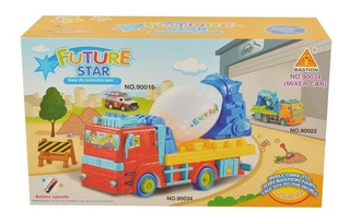 Future Star Super City Construction Team Truck Para Niños