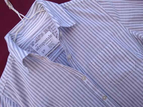 Camisa Para Mujer, Talle S, Manga Larga. Camisa Aéropostale.