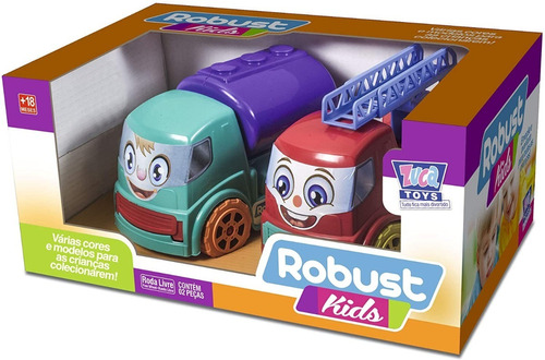 Robust Kids Carrinhos 2 Peças