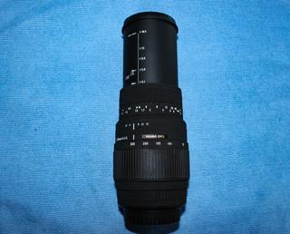 Teleobjetivo Sigma 70-300mm F/4-5.6 Dg Macro Para Canon