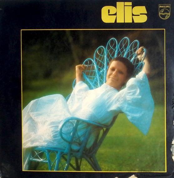 Lp Elis Regina - Elis - 1972 - Capa Dupla Encarte C/ Letras