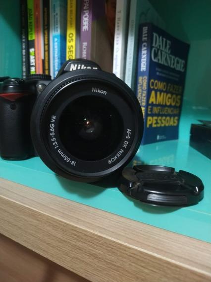 Camera De Fotos Nikon D3000