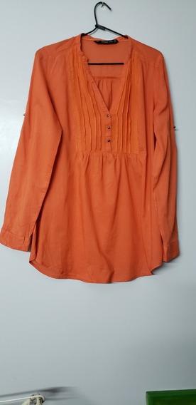Camisola Naranja De Zara Talle L