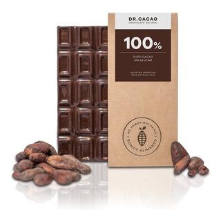 Tableta Chocolate Dr Cacao 100% Sin Azucar X70grs Envios