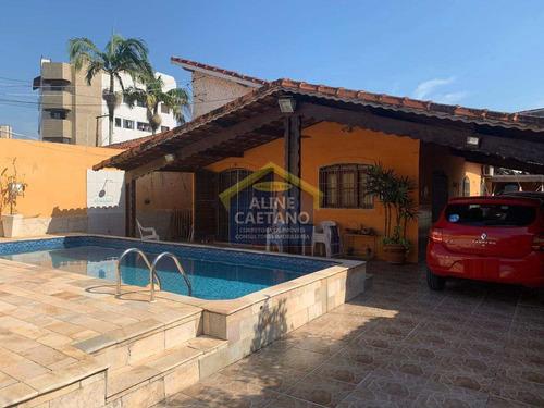 Maravilhosa Casa Com Piscina,3 Dorms, Edícula, Espaçoso Quintal - Vant4791