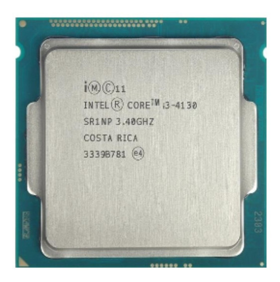 Processador Intel(r) Core(tm) I3 4130 Cpu 3,40ghz