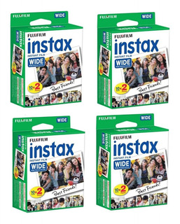 Pack 100 Films Instantáneos Fujifilm Instax Wide